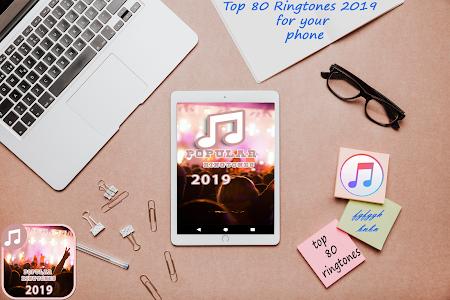 screenshot of top 80 best ringtones 2019 version 5.1